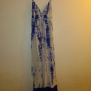 Beautiful nwot gypsy 05 tie dye maxi dress